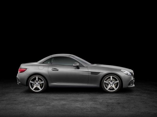 Salon Detroit 2016 : Mercedes SLC