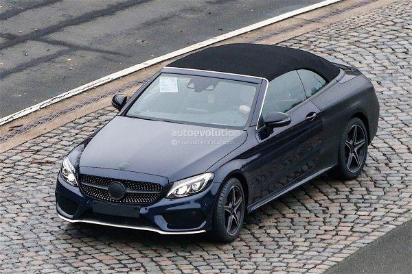 spyshots : Mercedes-Benz C-Class Cabrio