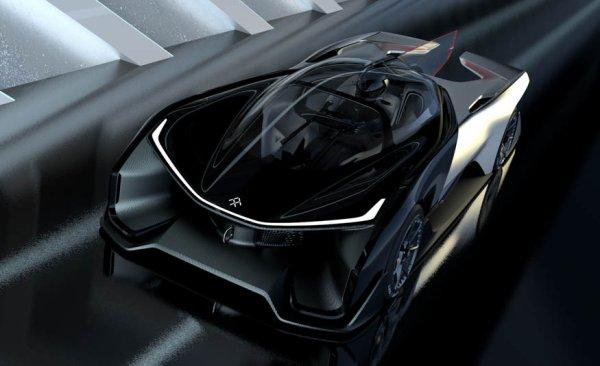 CES 2016 : Faraday Future Zero1 Concept