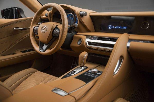 Détroit 2016 : Lexus LC500