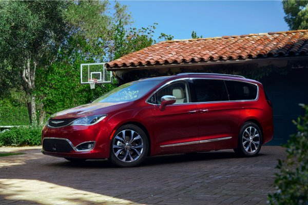 Détroit 2016 : Chrysler Pacifica