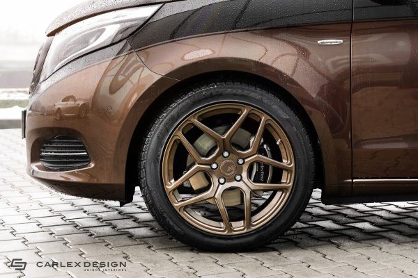 Mercedes classe V par Carlex Design