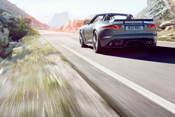 La Jaguar F-Type SVR en fuite