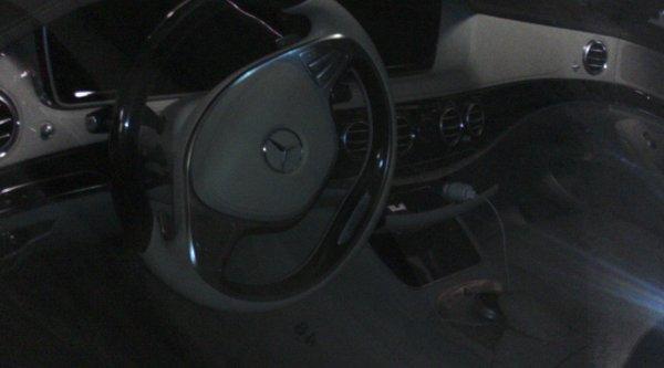 Vu dans mon parking (sous-sol) : Mercedes classe S 350 W222