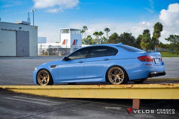 BMW Individual Yas Marina F10 M5 | Built by Velos Designwerks