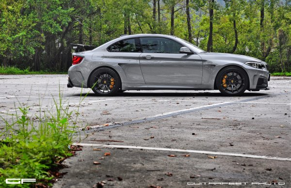 Manhart Performance BMW M235i with HRE P44SC Wheels