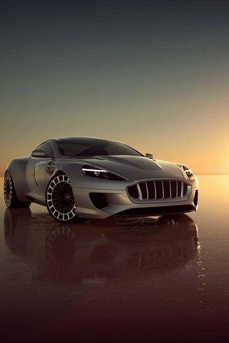 la Vengeance de Kahn, cette Aston DB9 re-dessinée ( re-post)