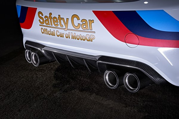 La BMW M2, nouvelle voiture de sécurité du Moto GP