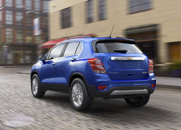 Chicago 2016 : Chevrolet Trax