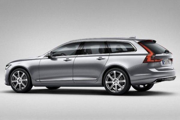 Volvo : fuite des photos officielles de la V90