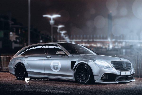 Mercedes-Benz S-Class Estate : Design