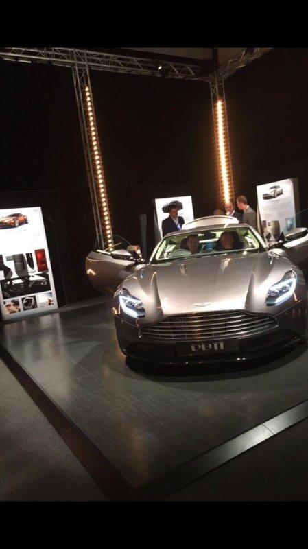 Genève 2016 : une nouvelle fuite pour l'Aston Martin DB11