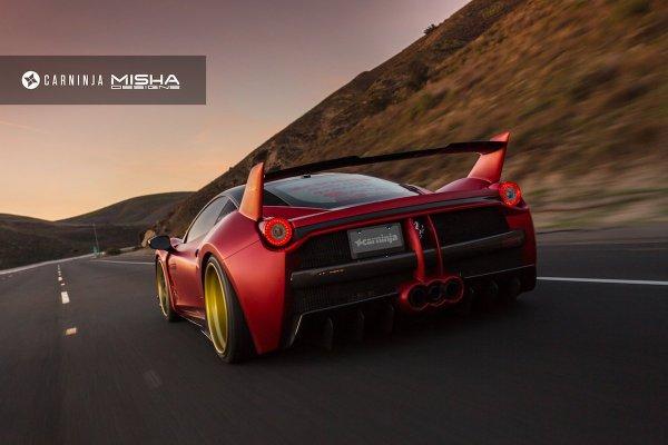 Misha Designs Bodykit Ferrari 458 Italia