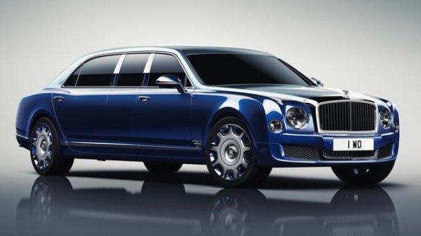 Genève 2016 : Bentley Mulsanne Grand Limousine par Mulliner