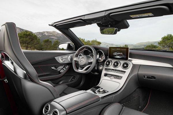 Genève 2016 : Mercedes Classe-C Cabrio