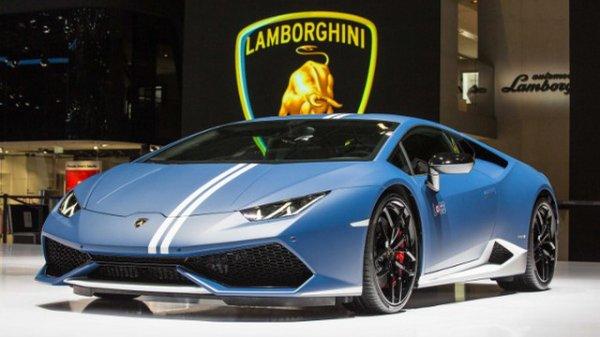 Genève 2016 : Lamborghini Huracán LP 610-4 Avio
