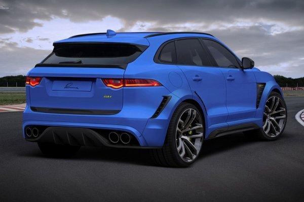 Lumma Design se place sur le Jaguar F-Pace