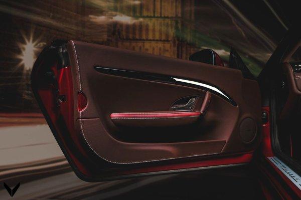 Vilner et une Maserati GranCabrio Sport
