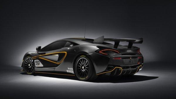 McLaren se lance en GT4 avec sa 570S