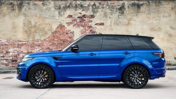 Kahn Design et le Range Rover Sport RS Pace Car