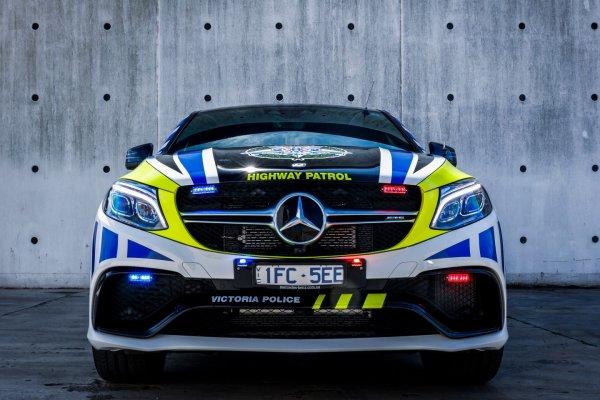 Un Mercedes GLE 63 AMG S Coupé pour la police australienne