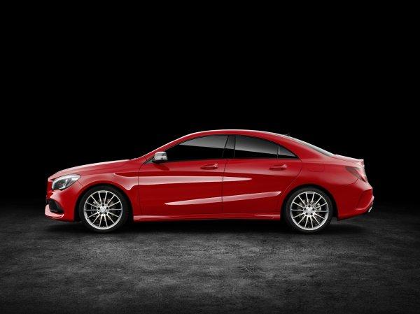 New York 2016 : Mercedes CLA