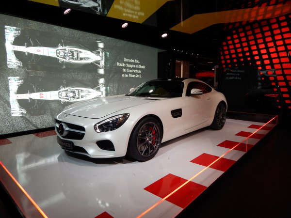 MERCEDES AMG-GT S !
