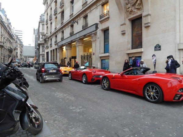 Ferrari California x3