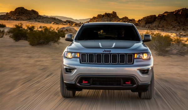 Une version Trailhawk pour le Jeep Grand Cherokee