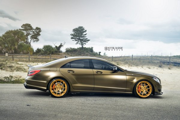 Mercedes-AMG CLS63 On Strasse Forged Rims