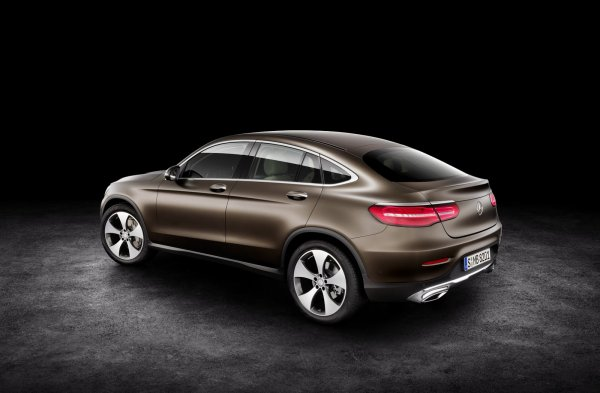 Salon de New York : Mercedes dévoile le GLC Coupé