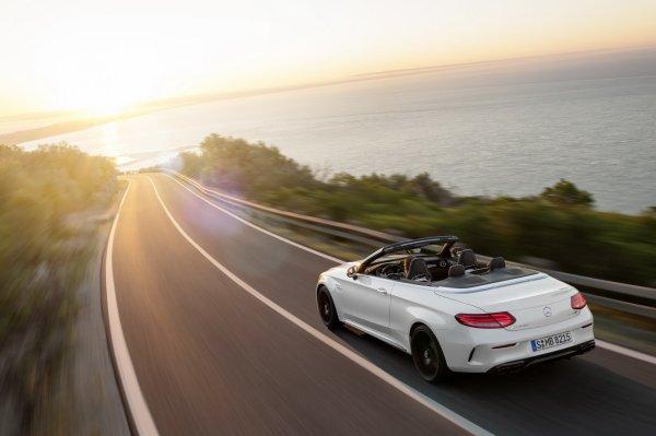 Salon de New York : Mercedes-AMG C63