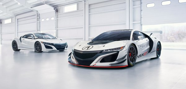 Salon de New York : Acura NSX GT3 RWD