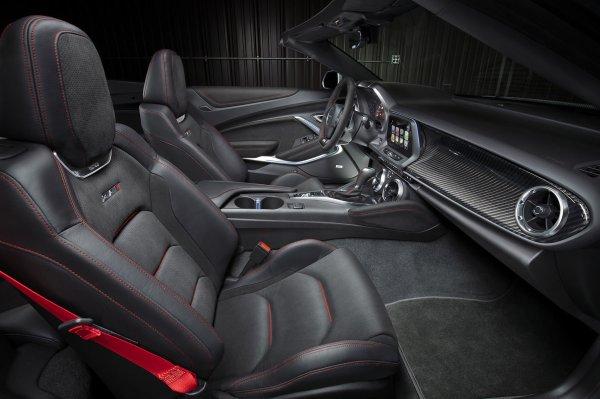 New York 2016 : Chevrolet Camaro ZL1 Cabrio