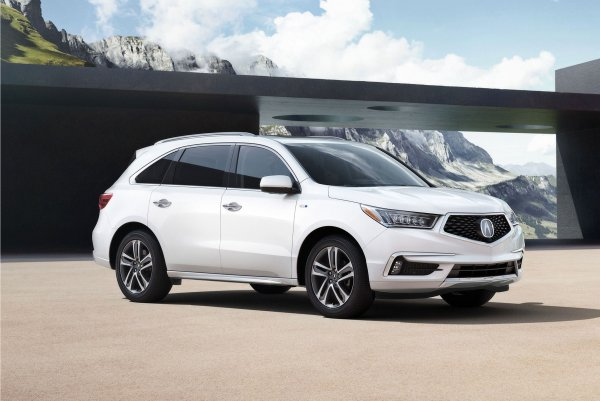New York 2016 : Acura MDX