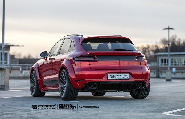 Porsche Macan Wide Body Kit By Prior Design