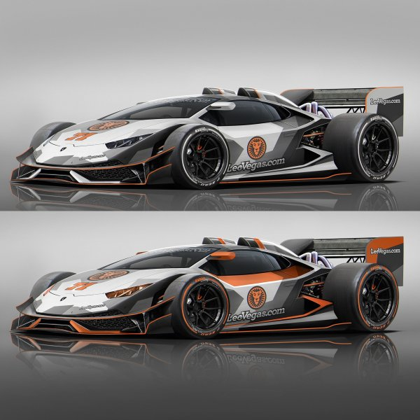 Widebody Huracan F1 Car Prank by Jon Olsson
