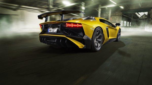 Novitec Torado et la Lamborghini Aventador LP 750-4 Superveloce