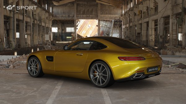Gran Turismo Sport : images Mercedes-Benz Mercedes-AMG GT S