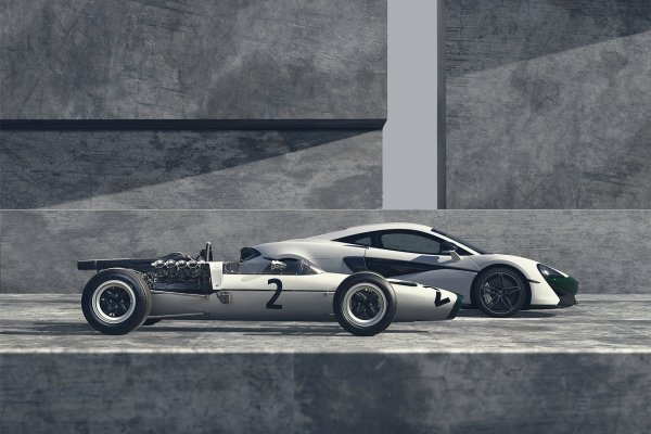 McLaren 570S M2B Edition : hommage anniversaire