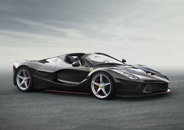 Ferrari LaFerrari Spyder, les premières photos