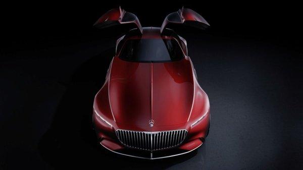 Voici le concept Mercedes-Maybach 6