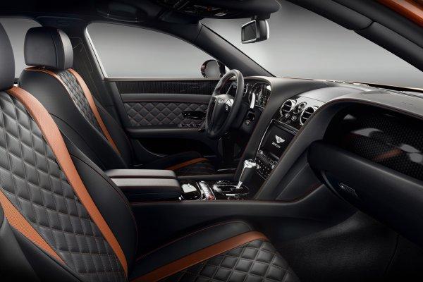 La Bentley Flying Spur W12 S est avancée
