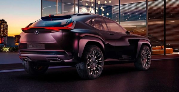 Mondial de Paris 2016 - Lexus UX Concept: petit frère de NX