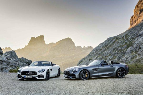 Mercedes-AMG GT Roadster et GT C Roadster : officielles mais pas au Mondial de Paris