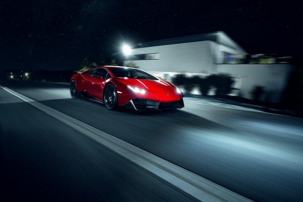 Novitec Torado Lamborghini Huracan RWD 2016
