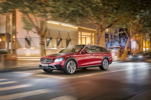 Paris 2016 : Mercedes Classe E All-Terrain