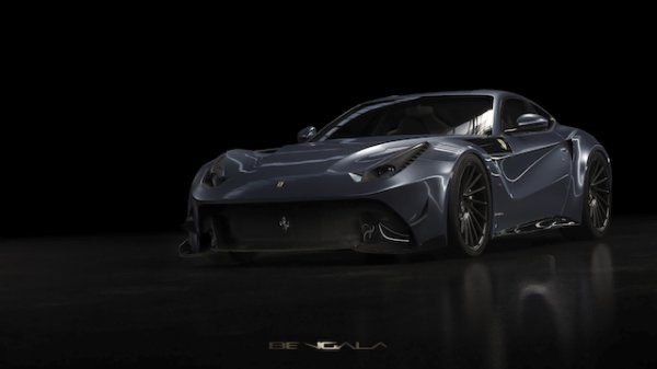 Bengala transforme la Ferrari F12