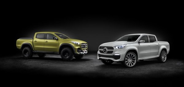 Mercedes X-Class concept : le pick-up du patron