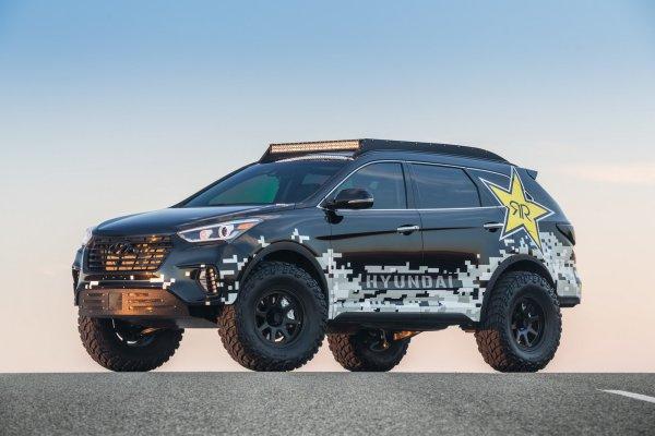 SEMA 2016 ; Hyundai Skunkworks Race Concept
